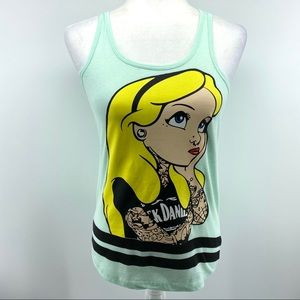 Exist Disney Tough Alice In Wonderland Tank Top
